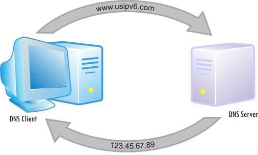 ДНС клиент и сервер