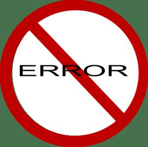 Иллюстрация Error