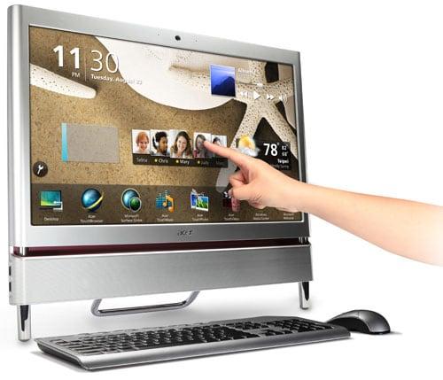 Моноблок с сенсорным экраном