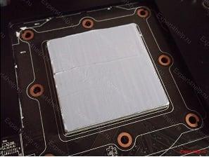 Так выглядит процессор с нанесённой термопастой