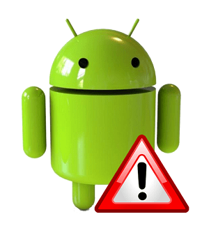 Ошибка на Андроид