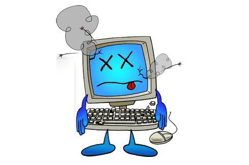 Сбой в компьютере