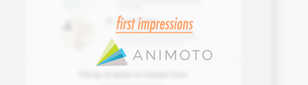 Клип из фотографий и музыки в Animoto