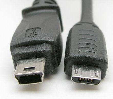 Отличия между Mini USB и Micro USB