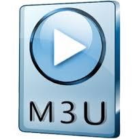 Файл плейлиста имеет расширение m3u
