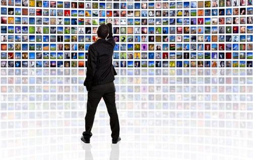 Человек и множество ТВ