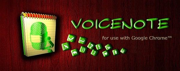 Картинка расширения Voicenote