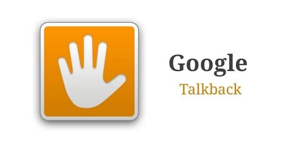Приложение Google Talkback