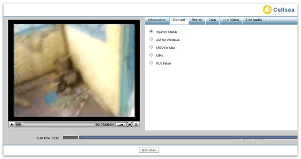 Скриншот сервиса Cellsea