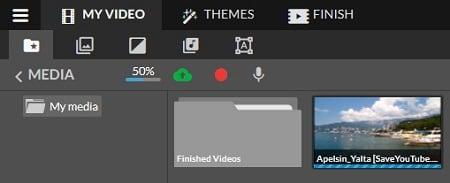 Импортируем видео в сервис