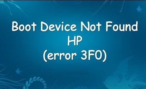 Error 3FO