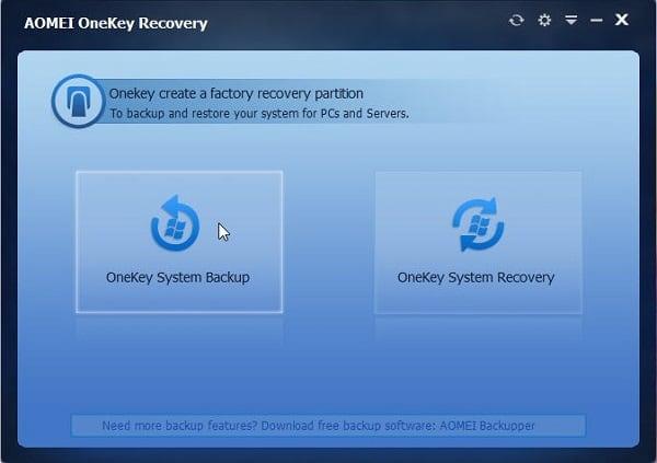 Используйте Acer Recovery Program