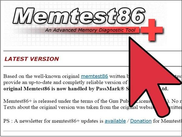 Используйте утилиту Memtest86+ для проверки памяти вашего ПК
