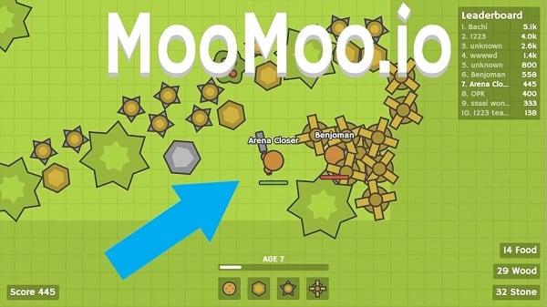 Знакомимся с игрой Moomoo.io