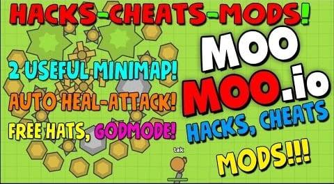 Используем читы к игре Moomoo.io