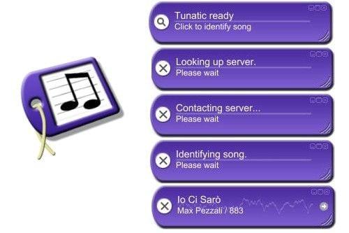 """Используйте функционал программы """"Tunatic"""" для идентификации песни"""