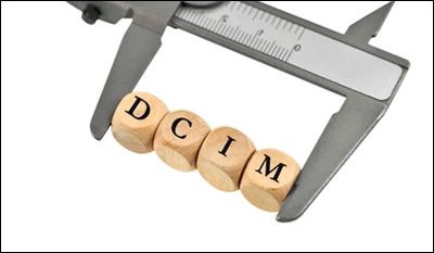 В некоторых случаях папка DCIM может превратиться в файл большого размера