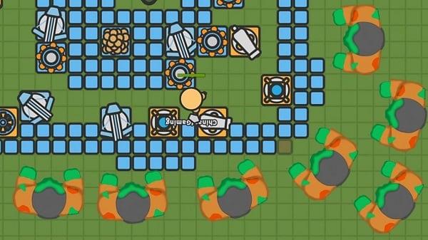 Скриншот игры Zombs
