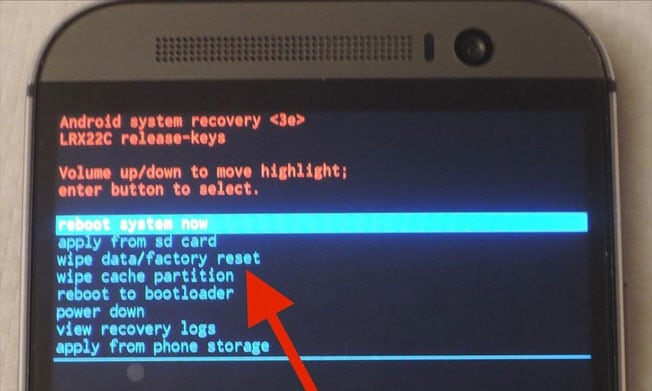 Что это Rereboot to Bootloader