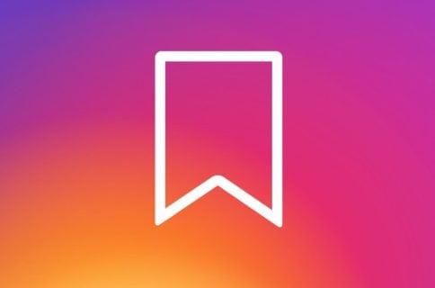 Флажок закладок в Инстаграм