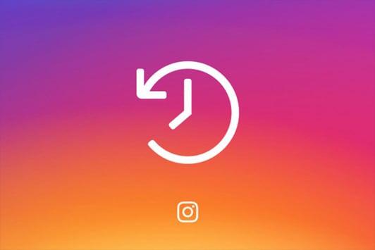 Иллюстрация времени в Инстаграм
