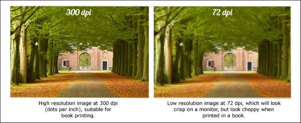 Разница в качестве картинок при разном DPI