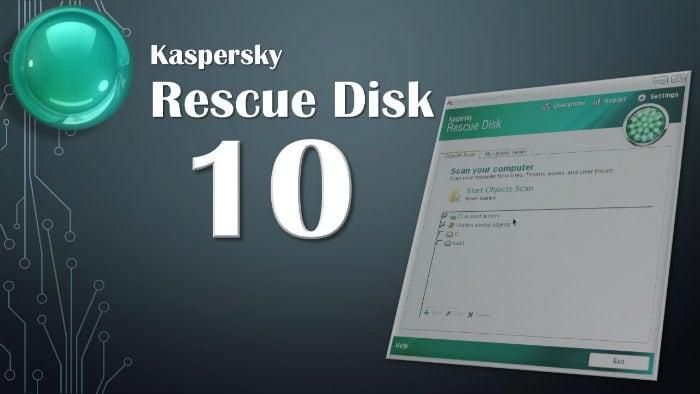 Антивирусный диск от лаборатории Касперского