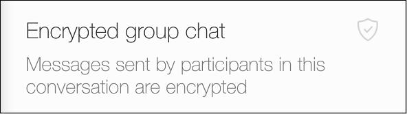 Уведомление о зашифрованном публичном чате в Вайбере