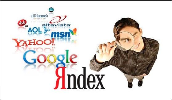 Картинка с перечислением поисковых систем