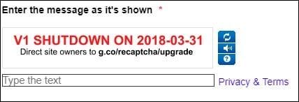 Альтернативное уведомление о деактивации с 31.03.18 г.