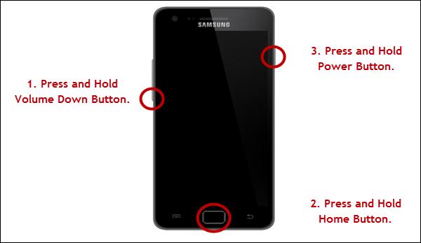 Нажмите указанные сочетания кнопок
