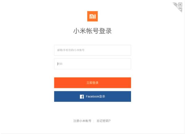 Вход на сайт Xiaomi