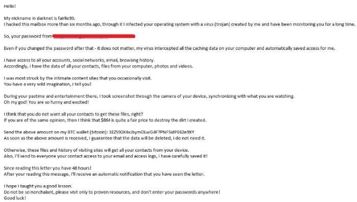 Письма от хакера
