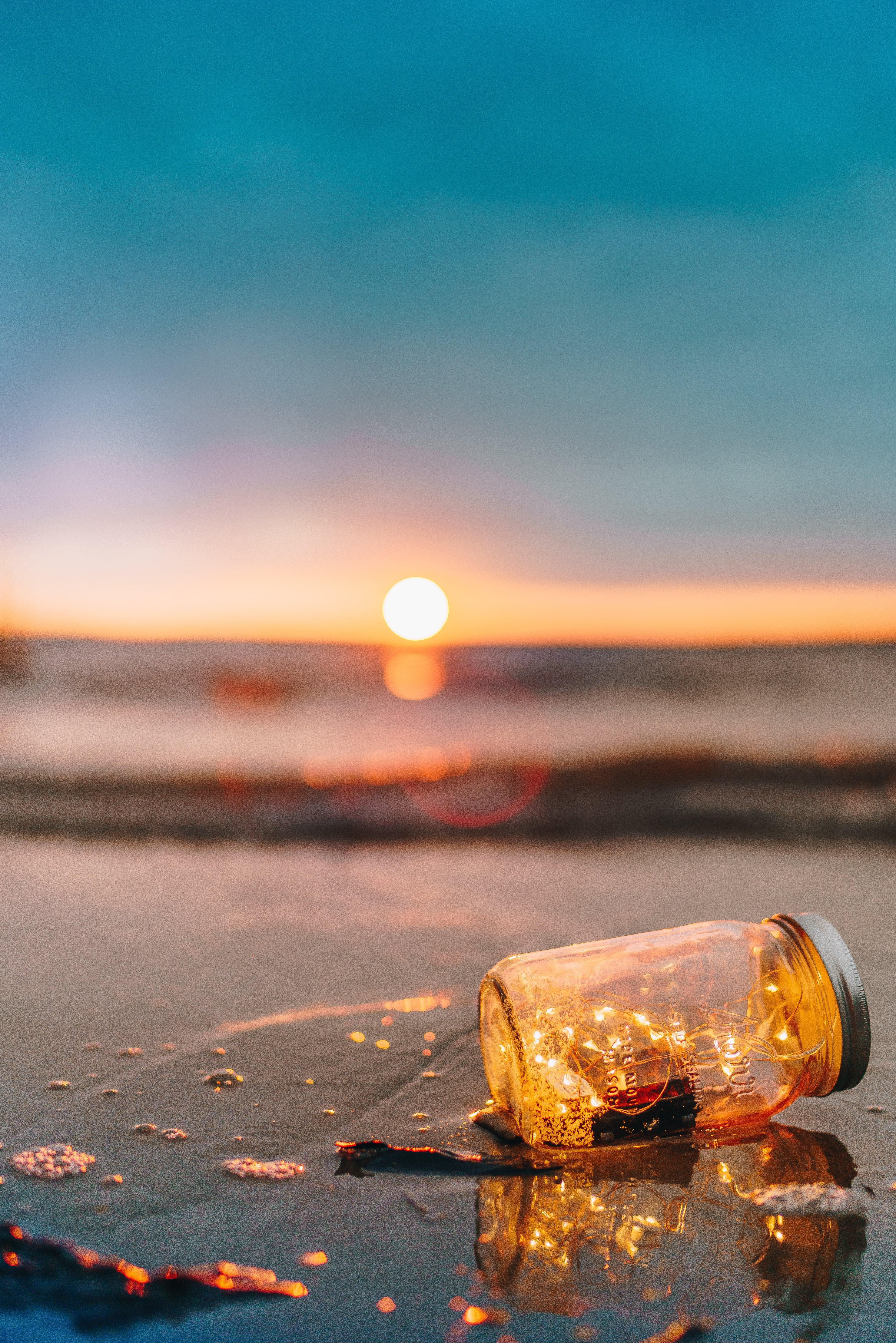 Фото рассвета на море