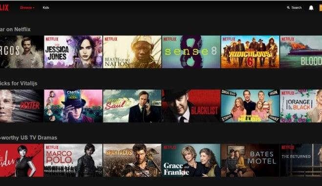 Netflix на телевизоре