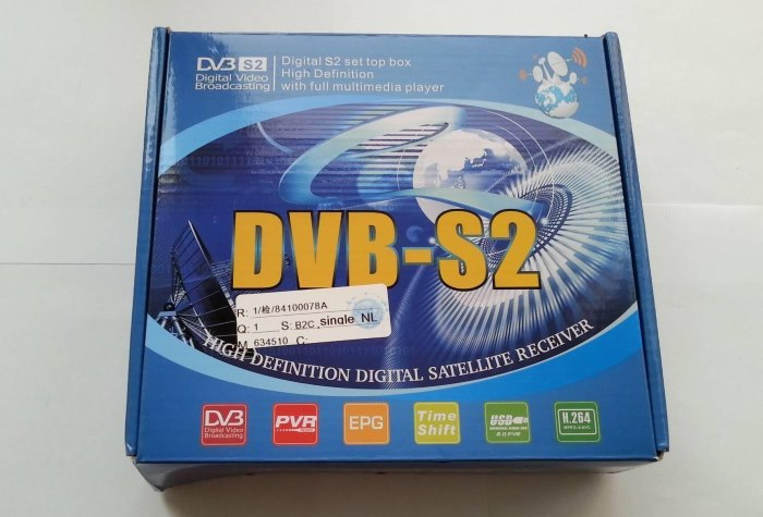 Ресивер DVB-S2