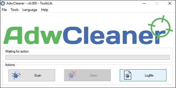 AdwCleaner вируса