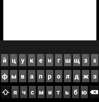 Клавиатура для ввода читов