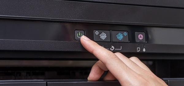 Кнопка питания принтер