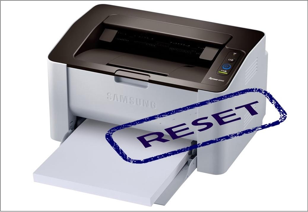 Самсунг сброс принтера