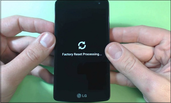 Factory Reset Processing