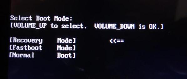 Recovery-mode-select