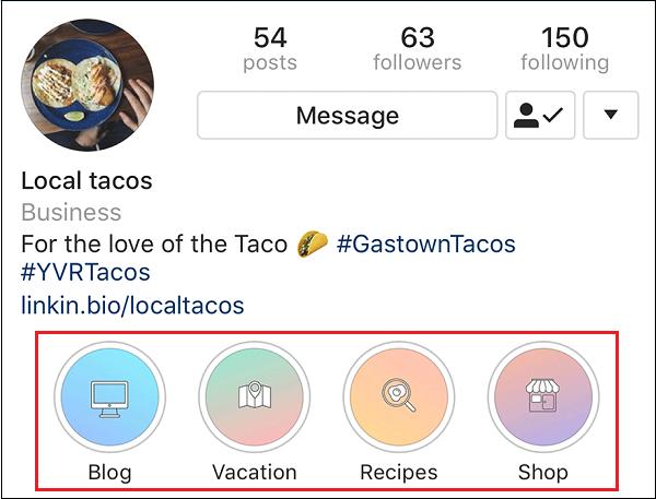 Сохранение историй в профиле Инстаграм