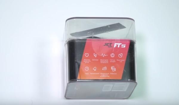 Упаковка часов Jet Sport