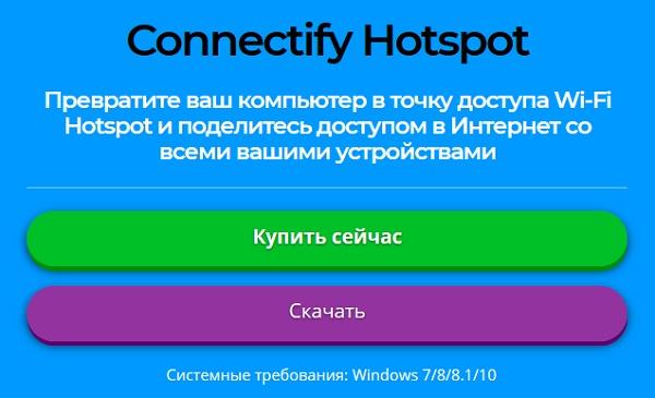 Connectify программа