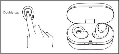 Иллюстрация двойного нажатия