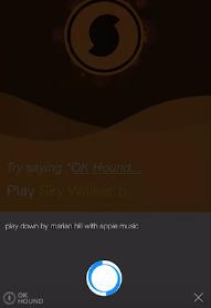Команды для приложения в SoundHound