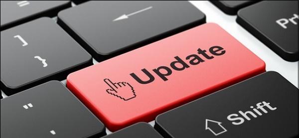 Кнопка Update