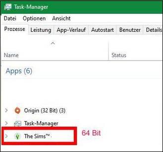 Процесс Sims