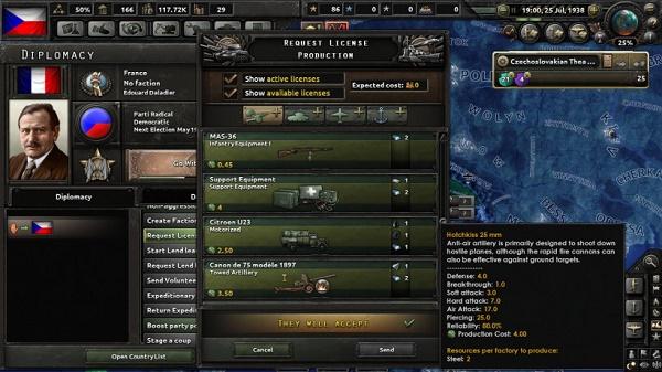 HOI-4 дипломатия